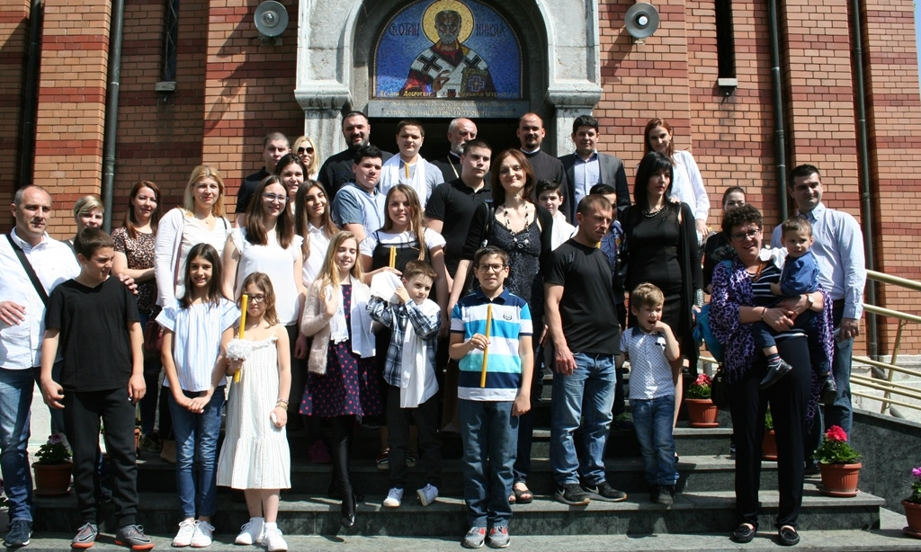 Saborno krstenje 14.04.2018. crkva Svetog Nikole 012